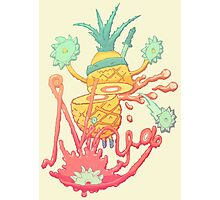 Ninja pineapple Photographic Print
