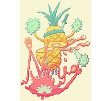 Ninja pineapple Photographic Print