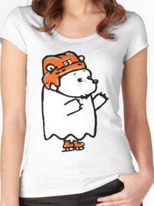 Ghost Bear III Women's Fitted Scoop T-Shirt