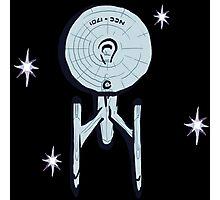 NCC - 1701 ENTERPRISE Star Trek Photographic Print