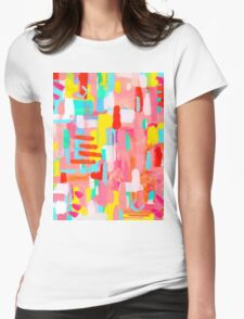 THOSE CRUCIAL THREE WORDS Womens Fitted T-Shirt