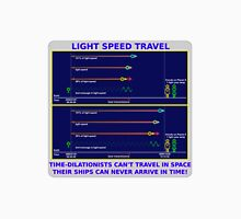 Science - Light Speed Travel 2 Unisex T-Shirt