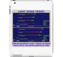 Science - Light Speed Travel 2 iPad Case/Skin