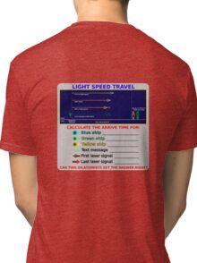 Science - Light Speed Travel Tri-blend T-Shirt