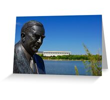Sir Robert Gordon Menzies Greeting Card
