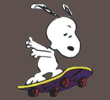 Snoopy skate One Piece - Short Sleeve