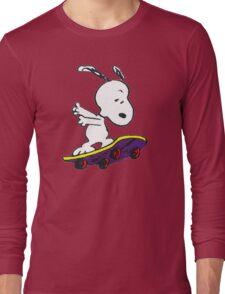 Snoopy skate Long Sleeve T-Shirt