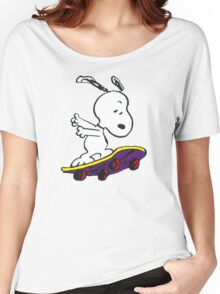 Snoopy skate Women's Relaxed Fit T-Shirt