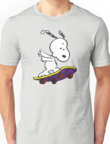 Snoopy skate Unisex T-Shirt
