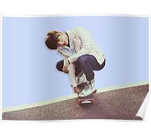 BTS/Bangtan Sonyeondan - Taehyung Skateboarding Poster