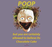Poop by Glafizya Kids Tee
