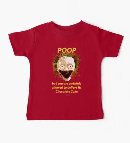 Poop by Glafizya Baby Tee