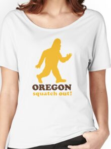 Squatch Out Oregon Women's Relaxed Fit T-Shirt