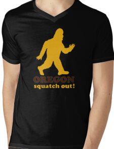 Squatch Out Oregon Mens V-Neck T-Shirt