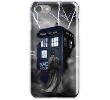 Lightning Blue Box iPhone Case/Skin