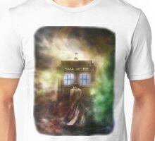 Fantasy Fog Blue Box Unisex T-Shirt