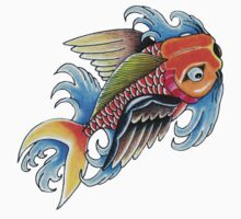 Flying Fish One Piece - Long Sleeve