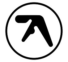 Aphex Twin Logo Photographic Print