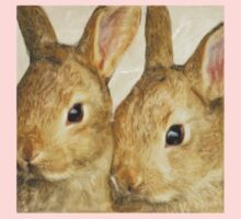 Wetnose Rabbits Colour One Piece - Short Sleeve