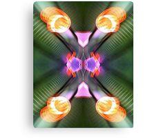 neon underground Canvas Print