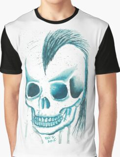 Punk Skull Graphic T-Shirt