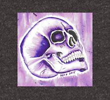 Purple Watercolor Skull Unisex T-Shirt