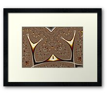 Geometric Patterns No. 61 Framed Print