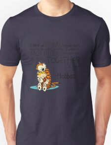Calvin and Hobbes Dreams Quote T-Shirt