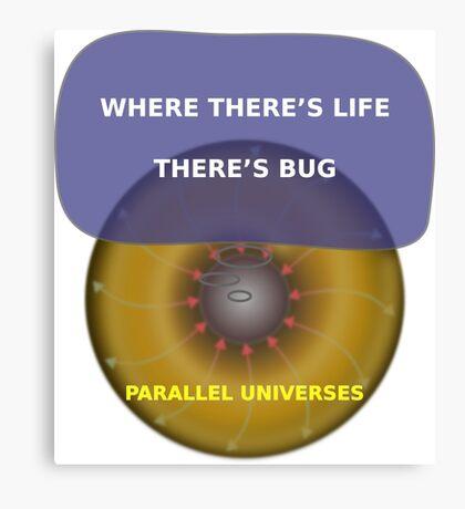 Parallel Universes - BUD Canvas Print