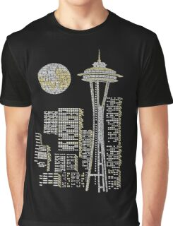 Seattle Skyline Graphic T-Shirt