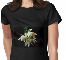 Weeping Narcissus Womens Fitted T-Shirt