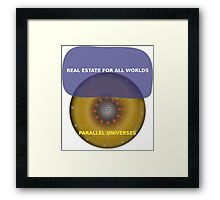 Parallel Universes - Century21 Framed Print