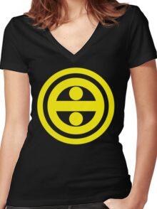 Phantasy Star Online Section ID: Yellowboze Women's Fitted V-Neck T-Shirt