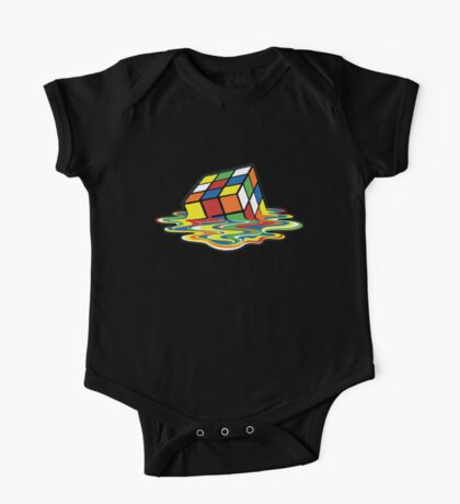 Rubik's Cube Melted Cubes One Piece - Short Sleeve