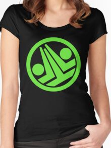 Phantasy Star Online Section ID: Greenill Women's Fitted Scoop T-Shirt