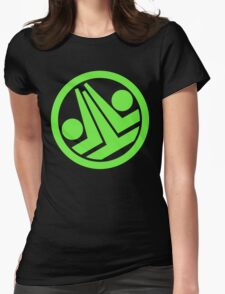 Phantasy Star Online Section ID: Greenill Womens Fitted T-Shirt
