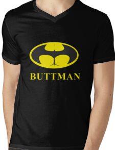 Buttman Mens V-Neck T-Shirt