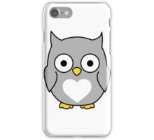 Owl always love you iPhone Case/Skin