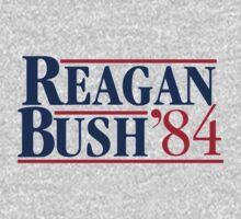 REAGAN Bush 1984 One Piece - Long Sleeve