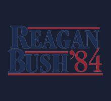 REAGAN Bush 1984 One Piece - Short Sleeve