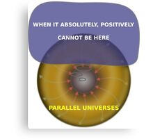 Parallel Universes - Fedex Canvas Print