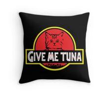 Jurassic Cat Throw Pillow