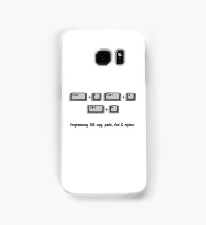 Programming 101: Copy, Paste, Find & Replace Samsung Galaxy Case/Skin