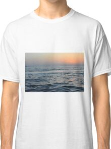 Sunset at the sea. Classic T-Shirt