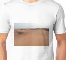 Sand dunes. The desert. Unisex T-Shirt