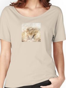 Wetnose Hedgehog Colour Women's Relaxed Fit T-Shirt