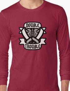 Monster Hunter Dual Blade Design Long Sleeve T-Shirt