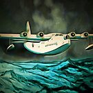 Short Sunderland Flying Boat (2) by Dennis Melling