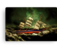 Has the Cutty Sark  Met It's Match Canvas Print