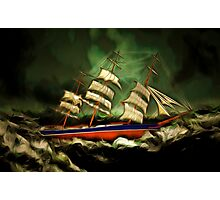 Has the Cutty Sark  Met It's Match Photographic Print